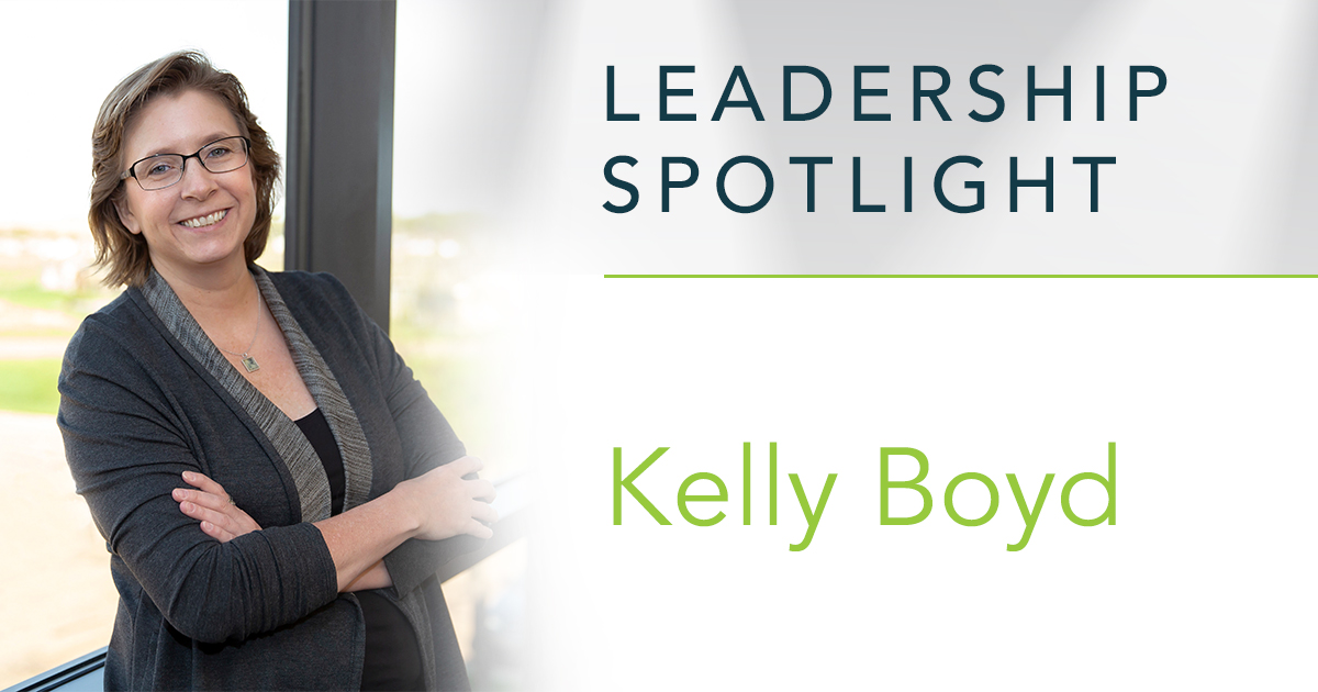 Leadership Spotlight: Kelly Boyd, Senior VP of Healthcare Operations